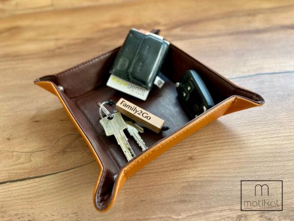 Schlüsselanhänger Family2Go mit Wunschnamen, Wunschtext, Familie